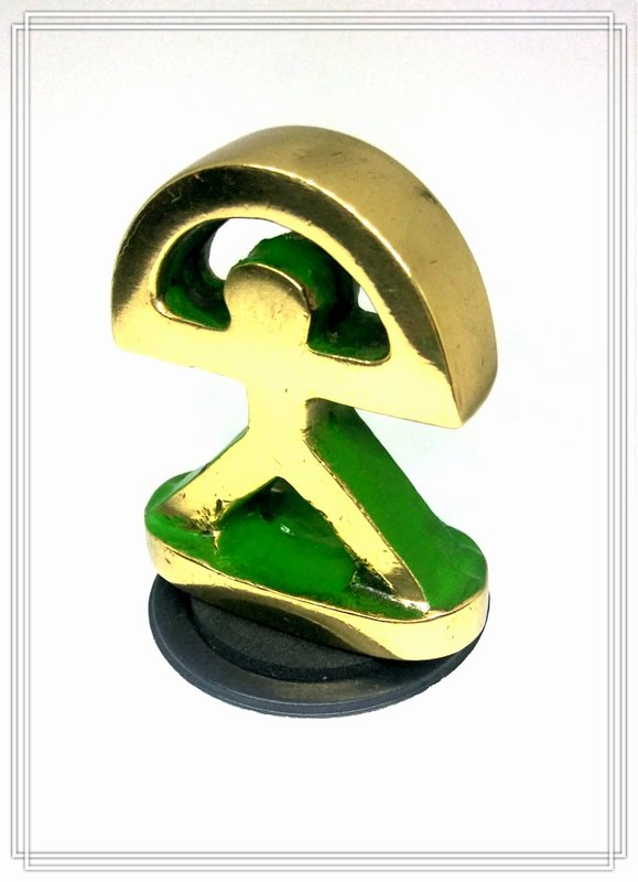 Indalo bronce recto