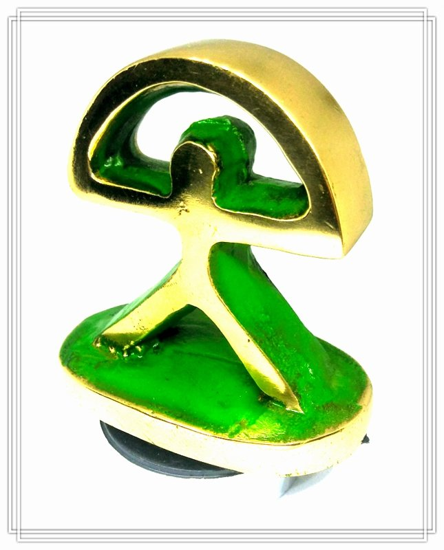 Indalo recto bronce